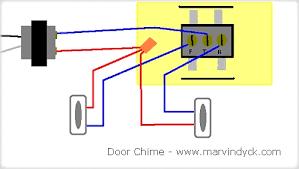 electric door bell wiring diagram wiring diagram and schematic