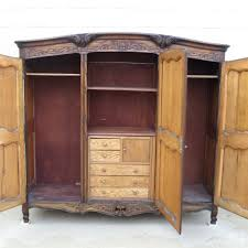Armoire With Hanging Space Armoire With Hanging Space Antique Wardrobe French Furniture