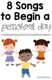 songs to begin a preschool day