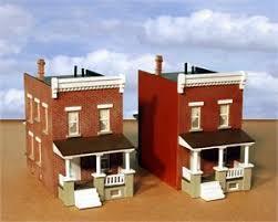 Row House Model - ho hampden rowhouse end units