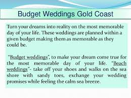 Beach Weddings Gold Coast Elopement Packages Services