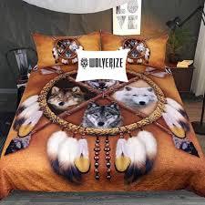 wolf bed set choose your wolf bedding set ready set deals