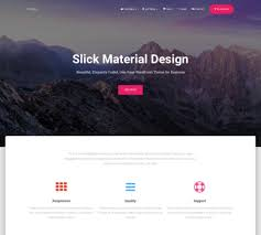 30 best free landing page wordpress themes 2017