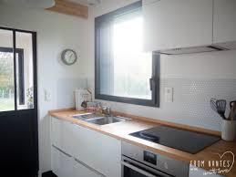 crédence cuisine à coller sur carrelage une crédence adhésive pour ma cuisine hexago de smart tiles