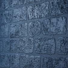 anaglypta textured vinyl wallpaper in lincolnshire brick rd812