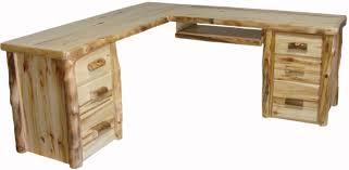 office furniture corner desk amazing desk aspen log corner desk jpg 1288 629 household dreams