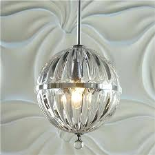Glass Orb Chandelier Clear Glass Sphere Chandelier Eimatco Arhaus Uptown 3 Light Globe