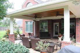 Outdoor Covered Patio by Patio Covers Outdoor Kitchens Fire Features In Katy Tx