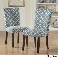 dining room chairs set of eclectic chair classic parson parson