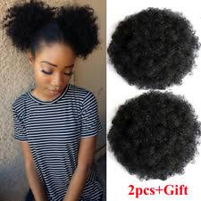 small afro puff buns hair pieces black hair extensions ebay