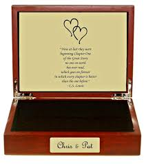 engravable keepsake box lewis quote keepsake box free engraving