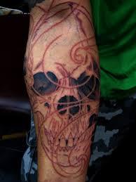 Forearm Skull - daniel forearm skulls 1 chris black