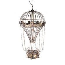 air balloon ceiling light vintage air balloon pendant model aj069 by old modern