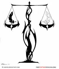 libra unique libra symbol tattoos