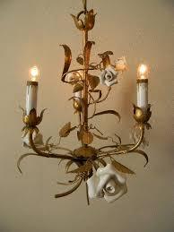porcelain chandelier roses 14 best lighting images on chandeliers floral