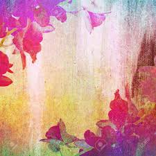 Colorful Painting by Colorful Painting With Orchid Flowers Stock Photo Picture And