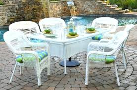 resin outdoor dining sets wicker patio chairs seating and by white