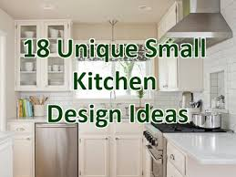 Small Kitchen Design 18 Unique Small Kitchen Design Ideas Deconatic