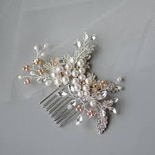handmade tiaras swarovski elements blush tones floral handmade headpiece