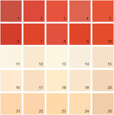 benjamin moore paint colors orange palette 07 house paint colors