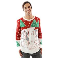 sexual sweaters tacky sweaters