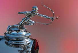 arrow archer ornament classic car emplems