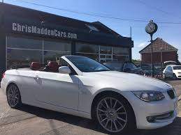 used bmw 3 series se convertible cars for sale motors co uk
