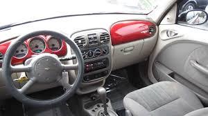2002 chrysler pt cruiser red stock l267593 interior youtube