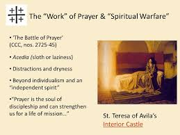 St Teresa Of Avila Interior Castle Christian Prayer Session 1 Prayer In The Christian Life Ppt
