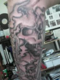 skull in smoke picture at checkoutmyink com