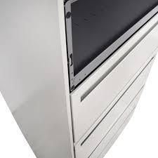 hon five drawer file cabinet 90 off hon hon white five drawer lateral file cabinet storage