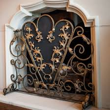 Decorative Fireplace Decorative Fireplace Screens With Candles Home Design Ideas