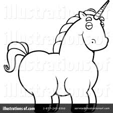 unicorn clipart 1157730 illustration by cory thoman