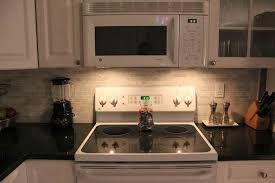 South Tampa Florida Linear Brick Bianco Carrara Marble Backsplash - Linear tile backsplash