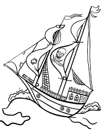 pirate ship coloring pages magic pirate ship coloring pages 01