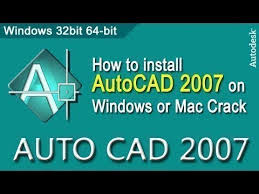 vidio tutorial autocad 2007 how to install autocad 2007 on windows 7 8 10 mac 32 64 bit crack