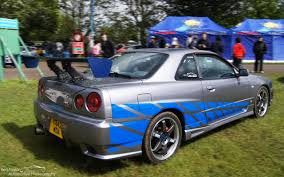 blue nissan skyline fast and furious 1999 nissan skyline gtr r34 2 fast 2 furious replica u2013 ben taylor