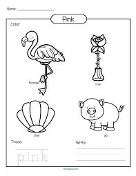 color pink worksheets tags color pink worksheets beehive