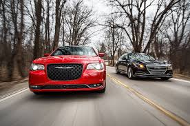 old chrysler grill 2015 chrysler 300 vs 2015 hyundai genesis comparison