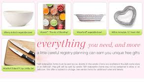 wedding registry free gifts registry rebates belk