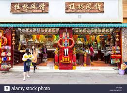 guilin china store selling decorative items for home and