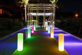 Landscape Lighting Wholesale Led Tower Pillar Medium Cylinder Floor L Outdoor Landscape