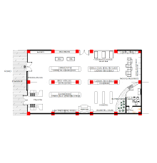 convenience store floor plan layout 2d cad grocery store cadblocksfree cad blocks free