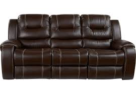 Recliner Sofas Baycliffe Brown Power Reclining Sofa Sofas Brown