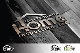 Bold Modern Logo Design for Clear Perspective Home Inspection
