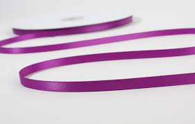 sided satin ribbon violet sided satin ribbon ribbon and trims craft supplies