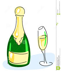 champagne bottle cartoon champagne bottle glass stock vector image of anniversary 31642225