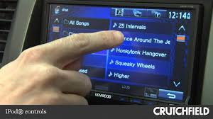 kenwood ddx770 dvd receiver display and controls demo