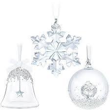 Swarovski Crystal Christmas Decorations Uk by Swarovski Crystal Christmas Set Annual Edition 2016