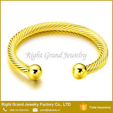 silver gold bracelet bangle images Factory price single designs men bangle silver gold plated jpg